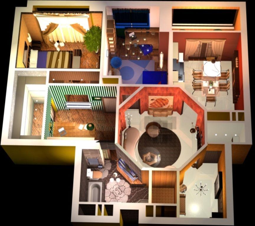 Внешний вид и внутренняя планировка дома по фен-шуй